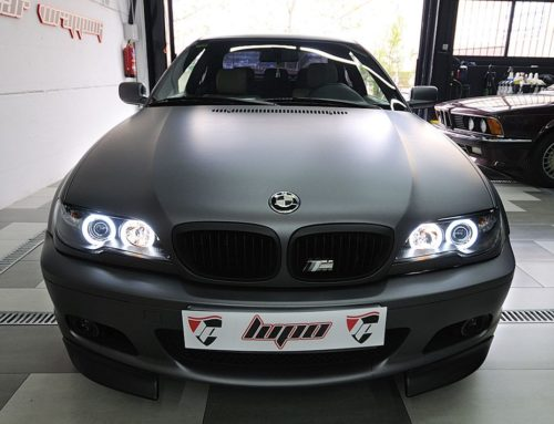 BMW SERIE 3 antracita mate