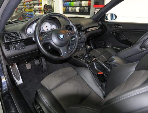 BMW M3 tapizado de asientos