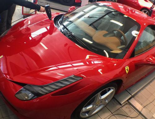 Ferrari 458 Italia Proteccion Film Transparente Bodyfence