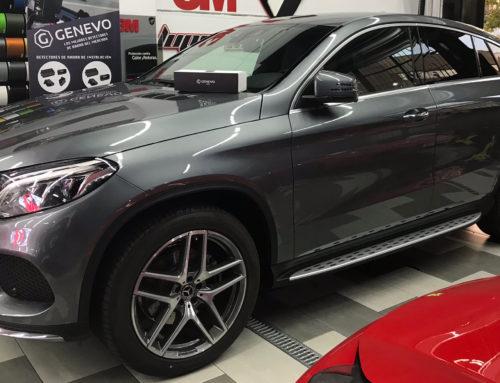 Mercedes GLE Tintado de Lunas y Difusor en Carbono 3M Wrap Film