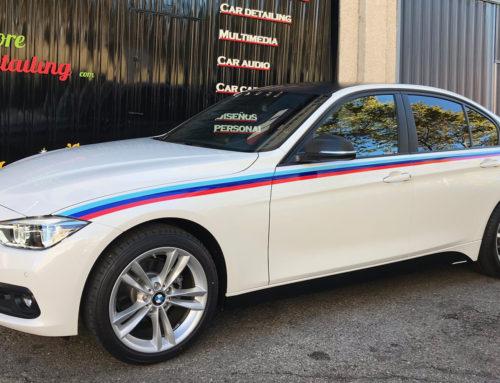 BMW M Performance Franjas y Detalles en Vinilo 3M
