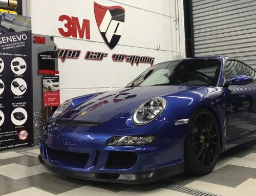 Porsche Gt3 Pulido y Aplicacion Film Protector Transparente Bodyfence
