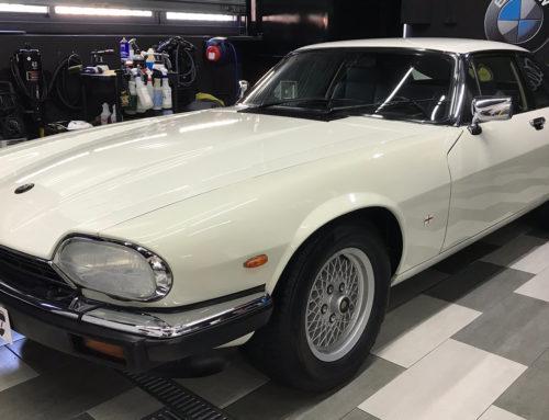 Jaguar XJS Tratamiento Luxury y Limpieza de Motor