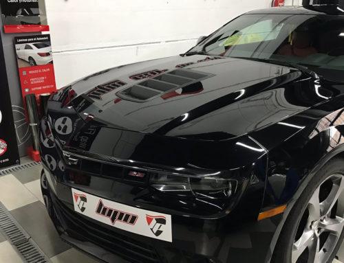 Chevrolet Camaro entrada de Aire y Difusor Trasero en Vinilo 3M Wrap Film
