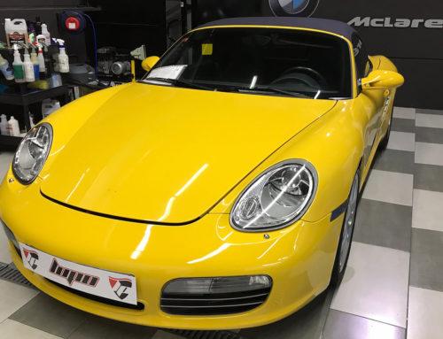Porsche Boxster Pulido y Proteccion Cerámica 9H
