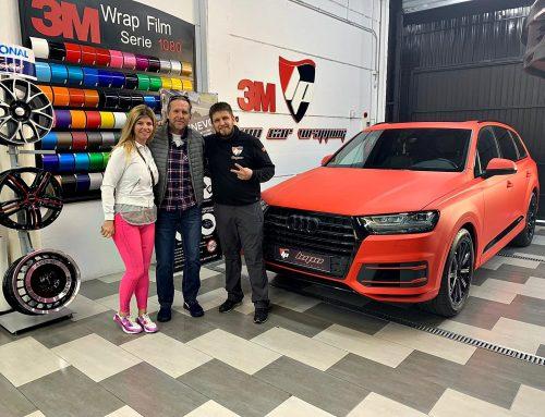 Audi Q7 Rojo mate Schuster