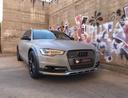 Audi A6 Allroad nardo satinado 3M wrap film