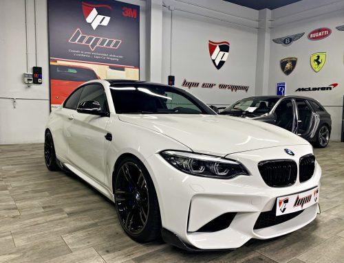 BMW M2 Suspensión KW y PPF Xpel