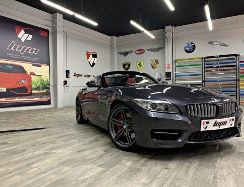 BMW Z4 Kit Hamann y pintado carrocería
