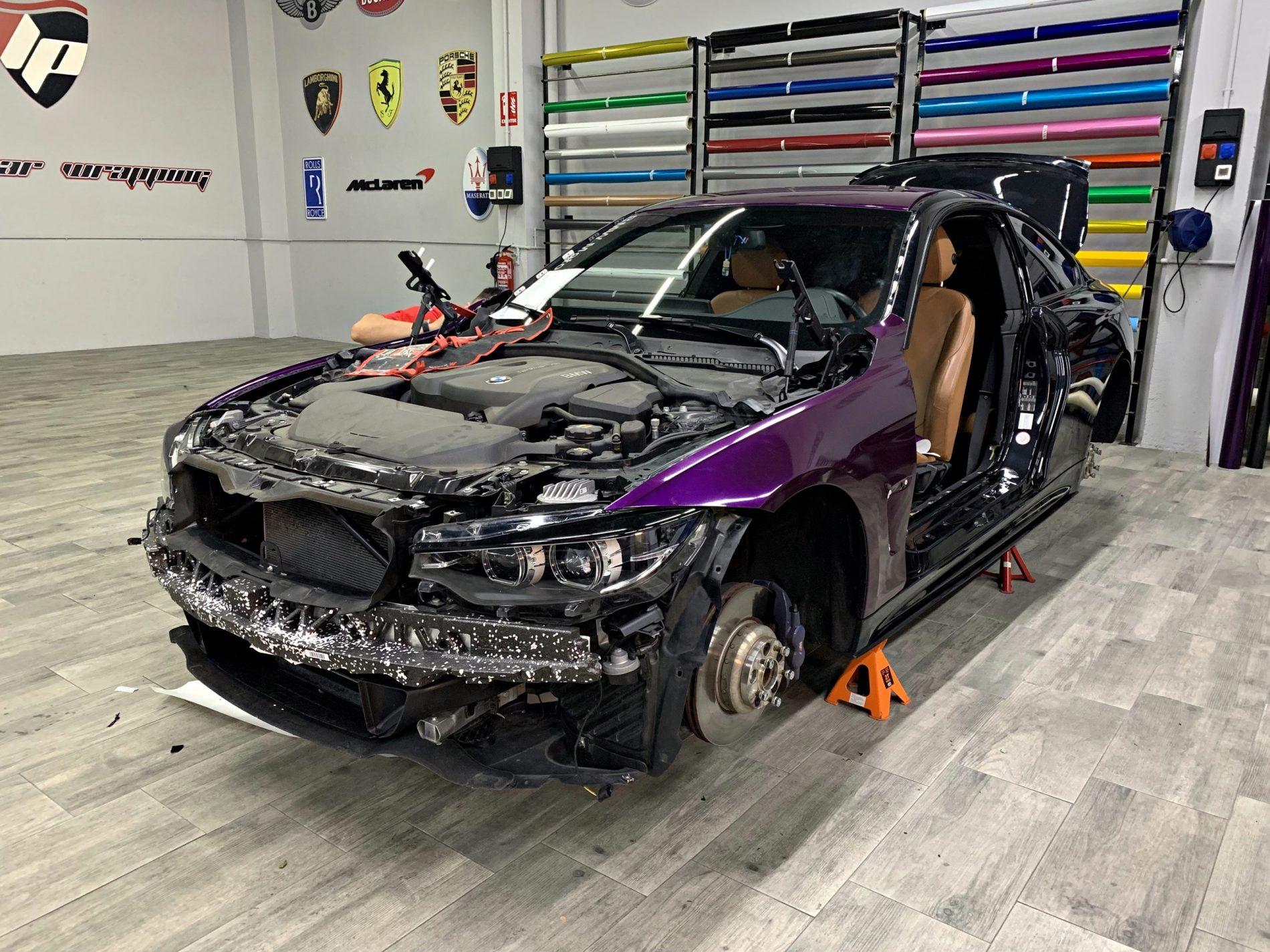 BMW 430 desmontaje previo