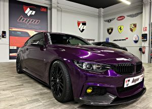 BMW 430 en vinilo EDERBERRY PURPLE GLOSS