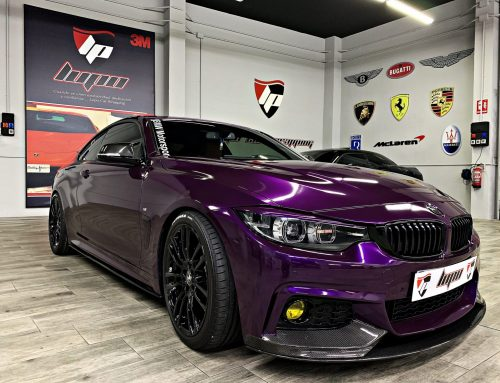 BMW 430 FULL WRAP EDERBERRY PURPLE GLOSS