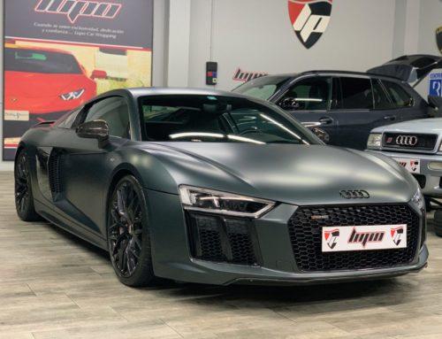 Audi R8 aplicación integral PPF XPEL Stealth
