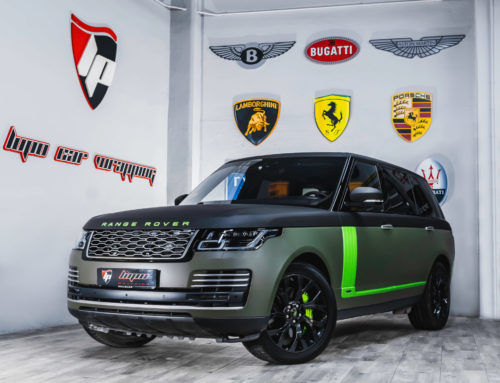Range Rover Autobiography Full Wrap y coating vinilo