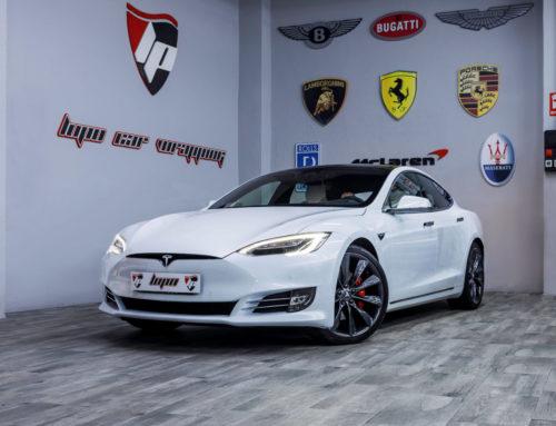 Tesla Model S protección con PPF XPEL Ultimate