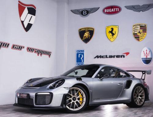 Porsche GT2 RS protección con PPF Xpel