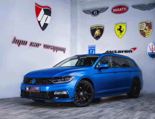 Volkswagen Passat Full Wrap Azul