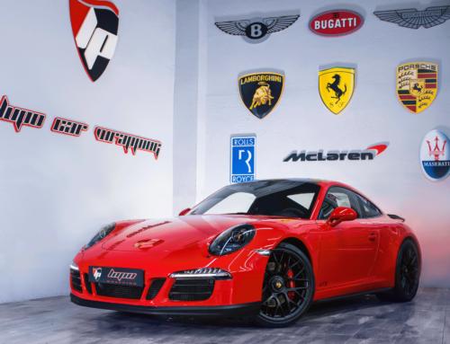 Porsche Carrera 4 GTS Pulido carrocería