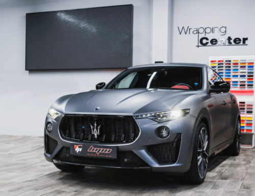 Maserati Levante Trofeo alerón Novitec y vinilo