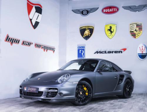 Porsche 997 Turbo Full Wrap
