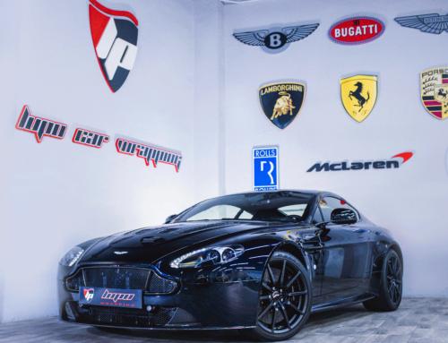 Aston Martin V12 Vantage s PPF Xpel