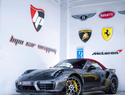 Porsche 911 Turbo S protección con PPF Xpel