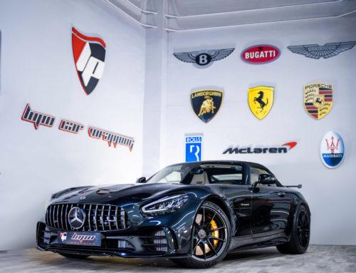 Mercedes AMG GT-R Roadster protección con PPF XPEL