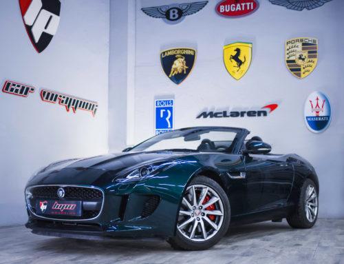 Jaguar F-Type pintado completo de carrocería